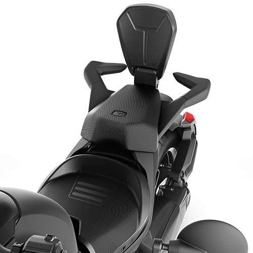 Спинка сидения пассажира высокая Foldable Passenger Backrest 219400843