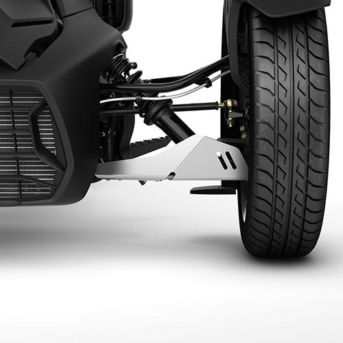 Защита передних рычагов A-arm Protector - Aluminium 219400863