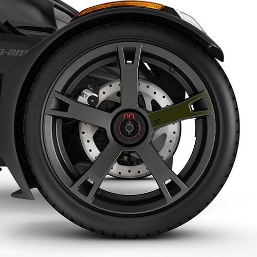 Наклейка на диски Wheel Decals - Army Green 219400922