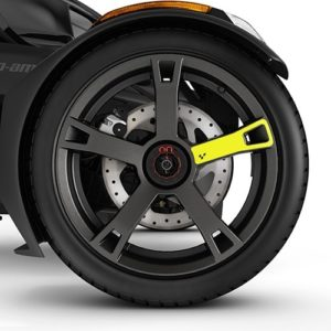 Наклейка на диски Wheel Decals - Electric Yellow 219400935