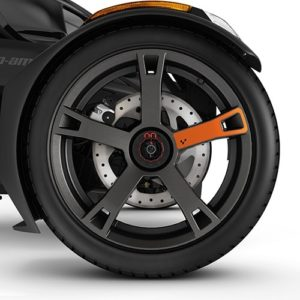 Наклейка на диски Wheel Decals - Orange Blaze 219400934