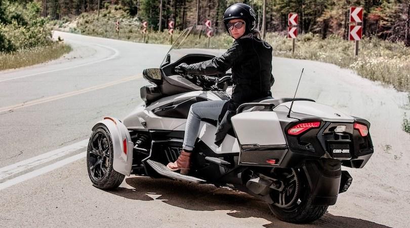 Трициклы трайки родстеры 3ww Spyder Ryker